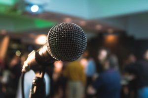 organizzare un evento pubblico